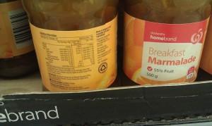 Woolworths Homebrand Marmalade